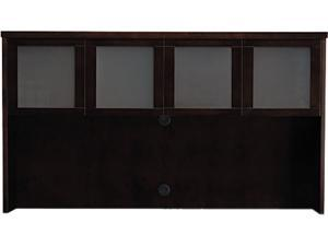 Mayline MHGD3970ESP Mira Series Wood Veneer Framed Glass Hutch Doors, Espresso