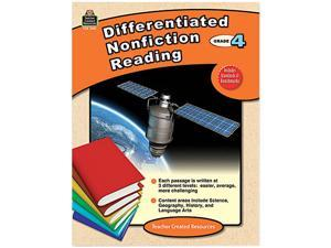 Teacher Created Resources 2921 Differentiated Nonfiction Reading, Grade 4, 96 Pages