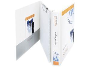 "Avery 63001 Durable View Portfolio Binder With Clipboard, Letter Size, 1-1/2"" Cap., White"