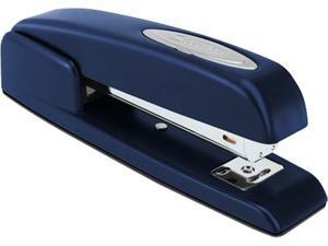 Swingline 74729 747 Business Full Strip Stapler, 20-Sheet Capacity, Royal Blue