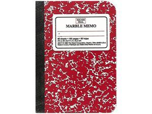 Mead 45417 Square Deal Colored Memo Book, 3/14 x 4 1/2, Assorted