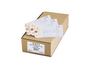 Avery Duplicate Inventory Tags, Bond Top Copy, 6 1/4 x 3 1/8, Manila/White, 500/Box