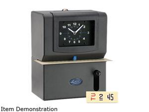 Lathem Time 2121 Heavy Duty Time Clock, Mechanical, Charcoal