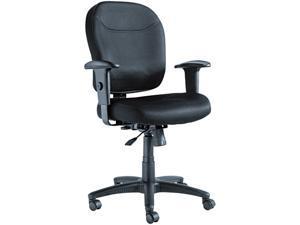 Alera Wrigley Series WR42BME10B (ALEWR42BME10B)Mesh Mid-Back Chair, Black