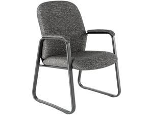 Alera Genaro Series GE43FC40B (ALEGE43FC40B)Guest Chair, Graphite Fabric, Sled Base