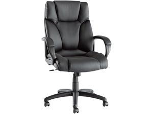 Alera Fraze Series FZ41LS10B (ALEFZ41LS10B)High-Back Swivel/Tilt Chair, Black Leather