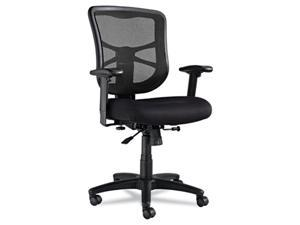 Alera Elusion Series EL42BME10B (ALEEL42BME10B) Mesh Mid-Back Swivel/Tilt Chair, Black