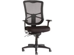 Alera Elusion Series EL41ME10B (ALEEL41ME10B) Mesh High-Back Multifunction Chair, Black