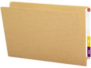 Smead 27400 Kraft End Tab Folders, Straight Cut, Legal, 50/Box