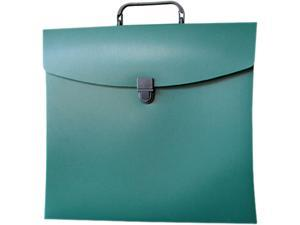 Aurora Products 10114 File N Go Portable File Box, Letter, Green