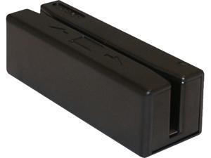 ID TECH SecureMag IDRE-335133B SecureMag Card Reader (Black) - USB HID, 3 Track Encrypted