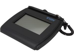 Topaz SigLite LCD 4x3 T-LBK750 Series Dual Serial/USB (High Speed) BackLit T-LBK750SE-BHSB-R Signature Capture Pad