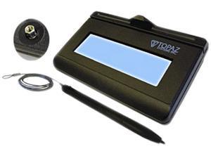 Topaz KioskGem LCD 1x5 T-LBK462-KA Series USB BackLit T-LBK462-KAHSB-R Signature Capture Pad