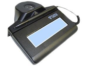 Topaz ID Gem Series IDGem LCD 1x5 HID-USB Backlit OPTICAL TF-LBK464-HSB-R Signature Capture Pad