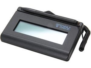 Topaz SigLite LCD 1x5 T-LBK460 Series Serial BackLit T-LBK460-B-R Signature Capture Pad
