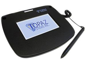 Topaz SignatureGem Color Series SL LCD Color 4.3 HID-USB Backlit T-LBK43LC-HSB-R Signature Capture Pad