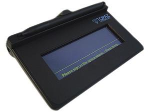 Topaz SigLite 1x5 T-S460 Series Virtual Serial via USB T-S460-BSB-R Signature Capture Pad