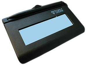 Topaz SigLite LCD 1x5 T-LBK460 Series Virtual Serial via USB BackLit TT-LBK460-BSB-R Signature Capture Pad