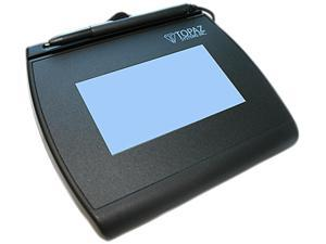 Topaz SignatureGem LCD 4x3 T-LBK755 Series Dual Serial/Virtual Serial via USB (High Speed) BackLit T-LBK755SE-BBSB-R Signature Capture Pad