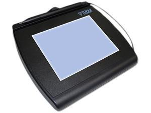 Topaz SignatureGem LCD 4x5 T-LBK766 Series Dual Serial/Virtual Serial via USB BackLit T-LBK766-BBSB-R Signature Capture Pad