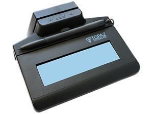 Topaz SigLite LCD 1x5 with MSR T-LBK460 Series USB Backlit TM-LBK460-HSB-R Signature Capture Pad