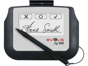 Evolis ST-BE105-2-UEVL Sig100  Signature Capture Pad
