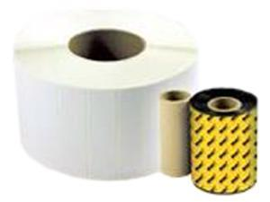 """WASP 633808402563-CASE 4"""" x 2"""" Labels Thermal Transfer (TT) 5"""" OD for WPL305"""