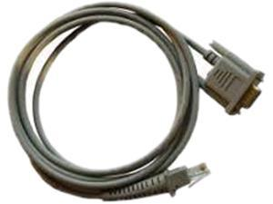 CAB-350, Staight 6.5' RS232 Cable, 9 Pin Female, Optional Power