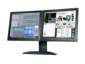 "DoubleSight DS-1900 Black 19"" 8ms Widescreen Dual LCD Monitor"