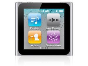 Apple MC525LL/A - 8GB iPod nano (6th Gen) SILVER