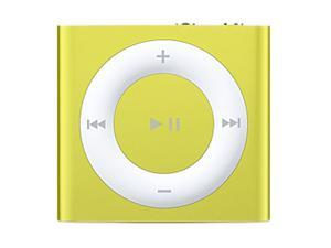 "Apple iPod shuffle (4th Gen) 1.24"" Yellow 2GB MP3 Player MD774LL/A"