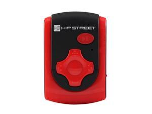 HipStreet Red 4GB MP3 Player HS-601-4GBRD