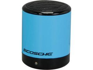 Scosche boomCAN Bluetooth Compact Wireless Speaker - Blue - BTCANBL