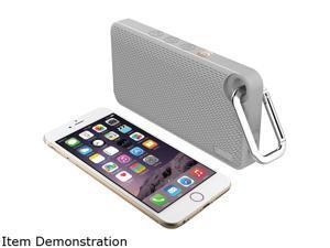 iLuv  ILVAUDMINIS6GR  App-controlled Splashproof Bluetooth Speaker