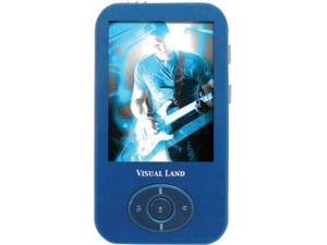 "Visual Land 2.4"" Blue 4GB MP3 / MP4 Player ME-964"