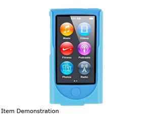 roocase Hybrid Silicone Case with Detachable Clip for iPod Nano 7 RC-NANO7-HYB-BL