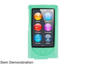 roocase Hybrid Silicone Case with Detachable Clip for iPod Nano 7 RC-NANO7-HYB-GR