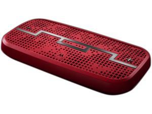 Sol Republic MO-89656N Vivid Red DECK Wireless Bluetooth Speaker