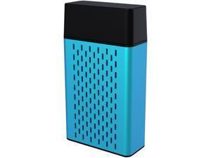 HYPE Aluminum Bluetooth Stereo Speaker - Blue