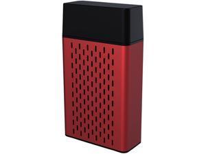 HYPE Aluminum Bluetooth Stereo Speaker - Red