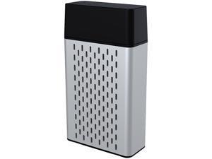 HYPE Aluminum Bluetooth Stereo Speaker - Silver