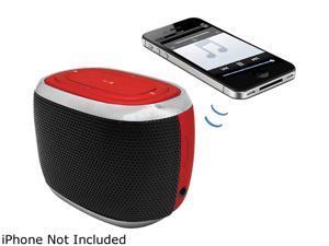 HYPE Mini Capsule Bluetooth Speaker - Red