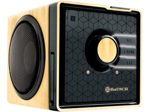 GOgroove BlueSYNC BX Rechargeable Bluetooth Wood Style Speaker with NFC Technology and Removable Battery - Works With Smartphones , Tablets and More!