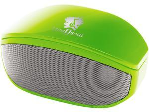 Life n Soul BN208-G Bluetooth Stereo Speaker Green