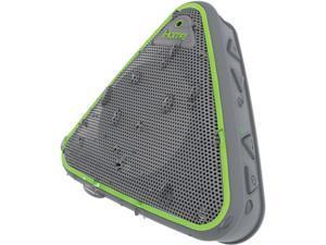 iHome IBT3GQC Splashproof Bluetooth Speaker with Speakerphone (Gray Green)