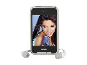 "Naxa 2.8"" Black 4GB Portable Media Player NMV-155"