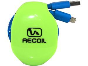 Recoil Winders LARGE Cord Winder for Laptop Chargers & More RC02B-LGB