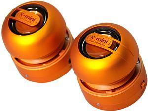 X-Mini MAX XAM15-OR Portable Capsule Speaker System, Stereo, Orange