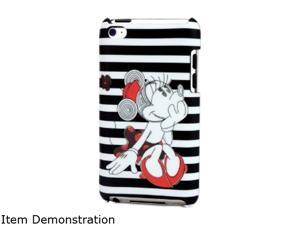 Disney Clip Hard Case for iPod Touch 4G - Minnie Stripes IP-1443