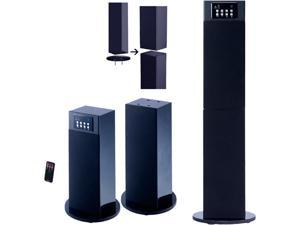 Craig CHT914c Stereo Home Theater /Tower Speaker System With Bluetooth Wireless Technology -